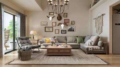 140平米三日式风格客厅设计图