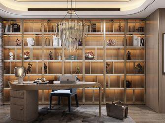 140平米三现代简约风格书房图