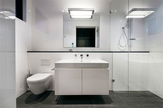 140平米别墅北欧风格卫生间装修案例