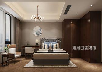 130平米三中式风格卧室装修图片大全