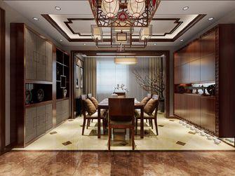140平米三室两厅中式风格餐厅图