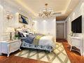 140平米四室三厅美式风格卧室图片