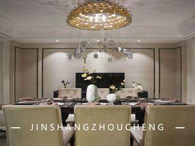 130平米三現代簡約風格餐廳裝修圖片大全