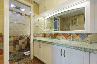80平米三室两厅地中海风格卫生间图