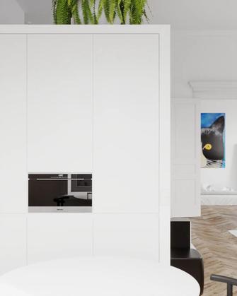 90平米三室两厅宜家风格卧室装修效果图