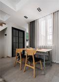 140平米别墅北欧风格餐厅装修案例