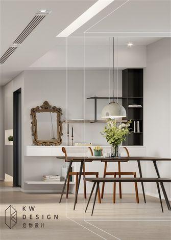 80平米三室两厅新古典风格餐厅图