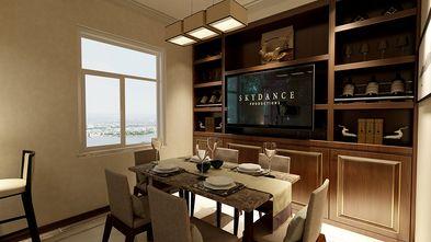 50平米一居室中式风格餐厅图