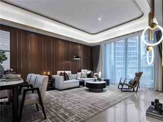 100平米三室三厅法式风格客厅装修效果图