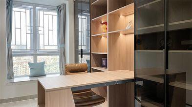 130平米三室两厅现代简约风格书房效果图