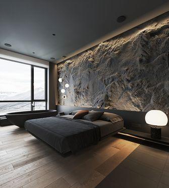 130平米四现代简约风格卧室设计图
