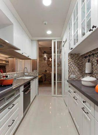 100平米三英伦风格厨房图