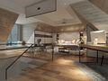 140平米别墅北欧风格阁楼设计图