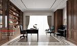 140平米四室三厅法式风格书房效果图