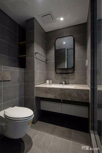 5-10万90平米三室一厅英伦风格卫生间装修图片大全