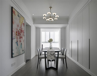 130平米三室两厅宜家风格餐厅图片