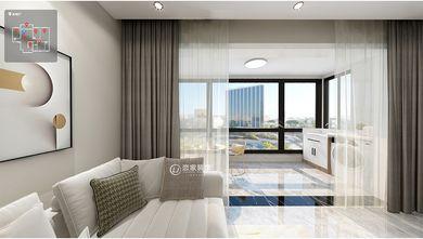 140平米三室两厅现代简约风格阳台效果图