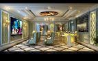 20万以上140平米复式欧式风格影音室图
