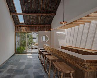 140平米田园风格走廊装修图片大全