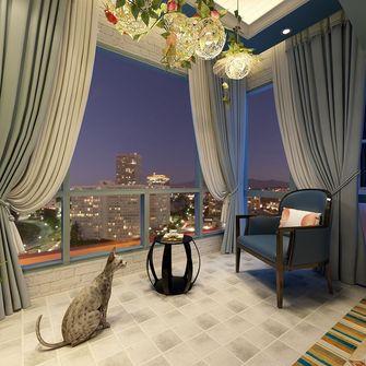 110平米三室一厅地中海风格阳台图片