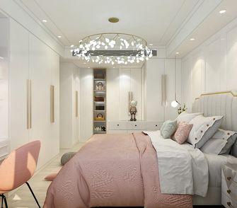 140平米三室三厅现代简约风格卧室效果图