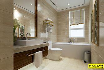 130平米三室一厅中式风格卫生间效果图