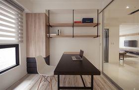 140平米四室两厅日式风格书房装修效果图