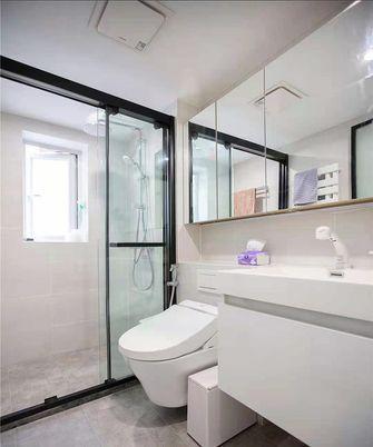 70平米三室两厅日式风格卫生间装修案例