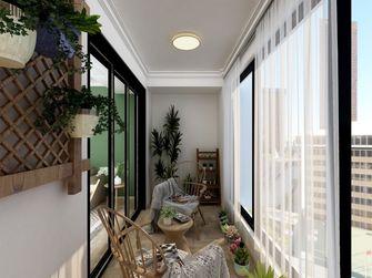 100平米四室一厅日式风格阳台装修效果图
