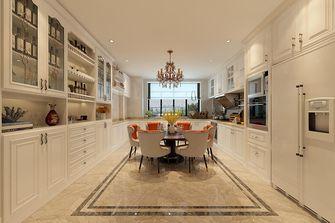 140平米四室两厅美式风格餐厅图