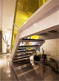 富裕型80平米复式现代简约风格楼梯图片