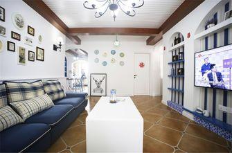 100平米三室两厅地中海风格客厅图