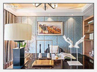 140平米三室一厅新古典风格书房效果图