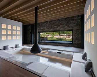 140平米田园风格卧室装修案例