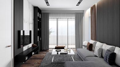 5-10万50平米公寓现代简约风格客厅图