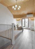 140平米四欧式风格阁楼装修案例