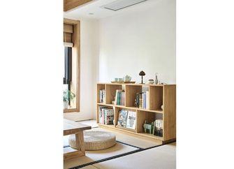 130平米三日式风格书房设计图