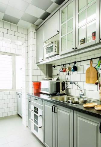 90平米田园风格厨房装修效果图