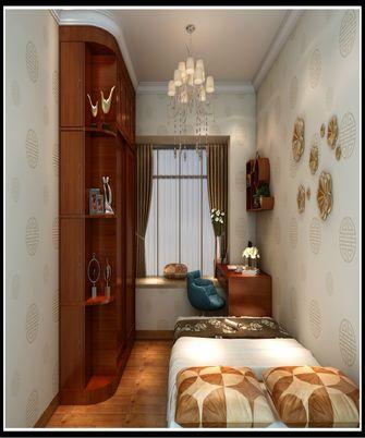 120平米三室一厅中式风格卧室装修案例