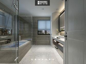 140平米别墅现代简约风格卫生间浴室柜图