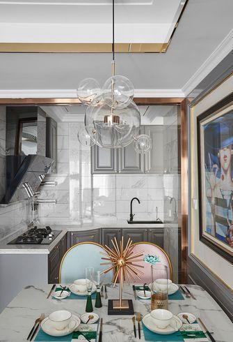 90平米三室两厅法式风格厨房设计图
