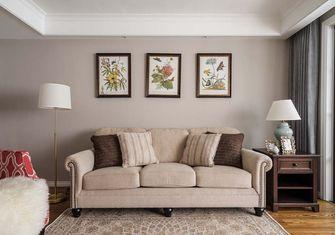 110平米三室五厅美式风格客厅图片大全