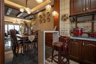 140平米三美式风格厨房图片