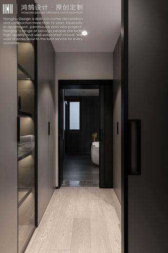 140平米四室两厅现代简约风格衣帽间图片大全