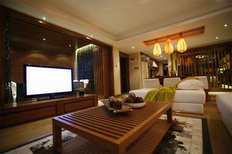 90平米东南亚风格客厅效果图