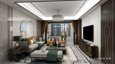 130平米三新古典风格客厅装修图片大全
