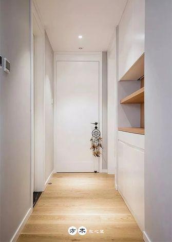 90平米三室两厅现代简约风格走廊图片
