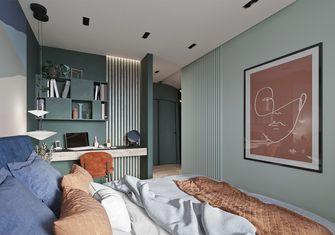 90平米三室一厅北欧风格卧室装修案例