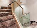 富裕型120平米现代简约风格楼梯装修案例