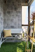 140平米三欧式风格阳台图